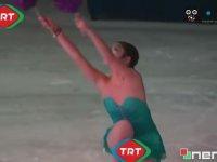 TRT'den Buz Patenine Açık Kıyafet Sansürü