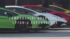 2016 Model Lamborghini Aventador LP750-4 SV