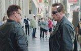 Arnold Schwarzenegger'le Terminator Şakası