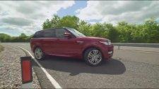 Akıllı telefonla Range Rover Sport'u kontrol ettiler...