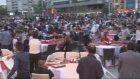 Taksim Meydanı'nda 3 Bin Kişiye İftar