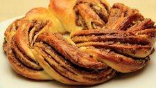 Nutellalı Örgü Kek Tarifi - Yumuşacık Tatlı Çörek