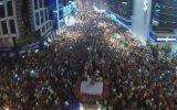 Karşıyaka'nın Şampiyonluk Kutlamaları Havadan Çekim