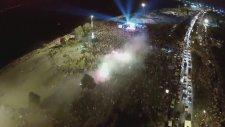Karşıyaka'nın Şampiyonluk Kutlamaları (Havadan Çekim)