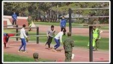Şili Ordusu Engelli Yarışı