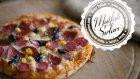 Bazlamadan Pratik Pizza Yapımı - Mutfak Sırları
