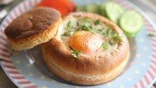 Hamburger Ekmeğinde Yumurta - Mutfak Sırları