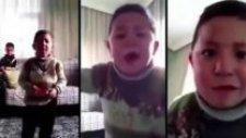 Hunharca Şarkı Söyleyen Çocuk Yeni Performansı İle Karşımızda