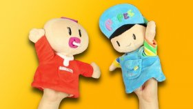 Pepee Ve Bebe El Kuklalarını Tanıtıyoruz