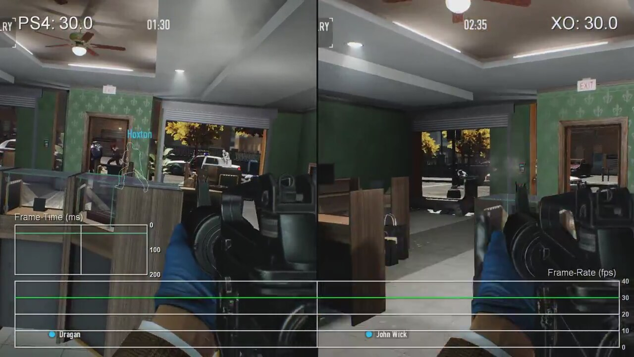 Payday 2: PS4 vs Xbox One Gameplay Frame-Rate Test | İzlesene.com
