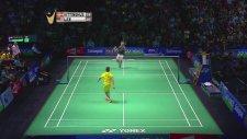 Badminton Maçında 10 Numara Sayı Alan Sporcu