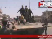 Kahramanlar Gibi Karşılanan Suriye Ordusu