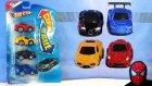 Oyuncak Araba Seti Diecast 4 Renk
