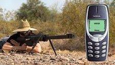 Nokia 3310'a 20mm'lik Uçaksavarla Ateş Edilirse