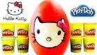 Oyun Hamuru Büyük Sürpriz Yumurta Hello Kitty Oyuncakları