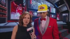 2015 NBA Draft LA Lakers D'Angelo Russell