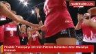 Finalde Polonya'yı Deviren Filenin Sultanları Altın Madalya Kazandı