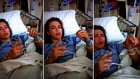 Ameliyat Sonrası Narkozun Etkisiyle Pacman Oynadığını Sanan Kız