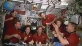 Uluslararası Uzay İstasyonu'nda Sıradan Bir Gün.