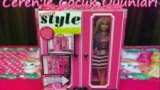 Barbie Style Elbise Dolabı