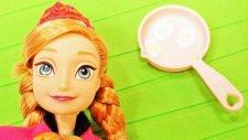 Karlar Ülkesi Prenses Anna ile Yumurta yapıyoruz - Evcilik TV Kendin Yap videoları