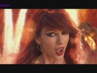 Taylor Swift'in Bad Blood Klibini Bir de Müziksiz İzleyin