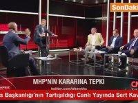 MHP Milletvekilinin Canlı Yayında Sinirlenmesi