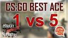 CS:GO 'Miko' 5 vs 1 Ace inferno
