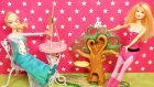 Karlar Kraliçesi Ressam Elsa Ve Süper Kahraman Barbie - Evcilik Tv