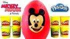 Büyük Sürpriz Yumurta Oyun Hamuru Mickey Mouse Oyuncakları
