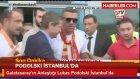 Galatasaray'ın Anlaştığı Lukas Podolski İstanbul'da