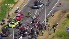 Fransa Bisiklet Turu'nda Korkunç Kaza