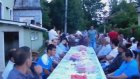 Hacıkadı Mahalle  Camii'nde İftar Yemeği