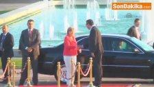 Almanya Başbakanı Merkel, Sırbistan'da