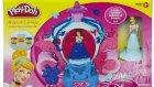 Disney Prenses Sindirella Balo Arabası Play Doh Oyun Hamuru Oyuncak Hamur Seti OyunHamuruTV
