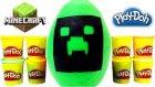 Oyun Hamuru Minecraft Büyük Sürpriz Yumurta Oyuncakları