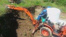 Traktör kepçe Kazıcı CANLI TARİM İŞ MAKİNALARI