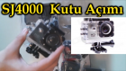SJ4000 - Kutu Açımı (UnBoxing) Action Camera