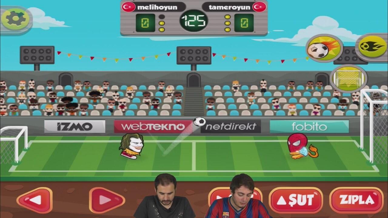 Kafa Topu Şampiyonlar Ligi Oyununun Videosu 58