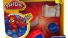 Örümcek Adam Play Doh Oyun Hamuru Oyuncak Seti Tanıtımı OyunHamuruTV