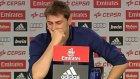 Casillas Veda Konuşmasında Ağladı