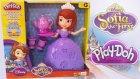 Prenses Sofia Çay Partisi Play Doh Oyun Hamuru Seti Oyuncak Tanıtımı OyunHamuruTV Videoları