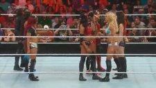 WWE Raw 13/07/2015 - Part 2 - NXT Divas Storm