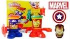 Play Doh Marvel Oyuncakları Oyun Hamuru Seti Kaptan America ve Iron Man