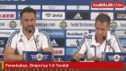 Fenerbahçe, Dnipro'ya 1-0 Yenildi