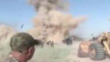 Irak'ta Canlı Yayında Bomba Patladı