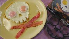 Kuru Kafa Şeklinde Kızarmış Yumurta