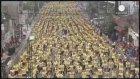 Filipinler'de binlerce kişilik zumba rekoru