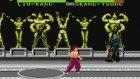 Mortal Kombat Oyunu Liu Kang-Skang Tsung Dövüşü Mortal Combat
