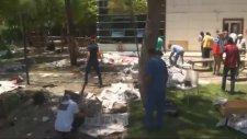 Şanlıurfa Suruç'ta Şiddetli Patlama (Olay Yerinden Görüntüler)  +18